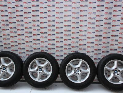 Set jante aliaj R17 BMW X5 E53 1999-2005, 5x120, is40 , 7.5Jx17SEH2 cod: 1096159-13