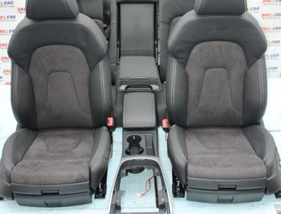 Interior din piele si alcantara S-line Audi A4 B8 8K limuzina 2008-2015