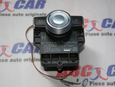 Joystick (controler)navigatie Mercedes C-Class W204 2008-2013 A2048700579