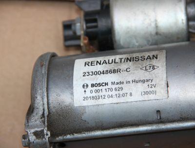Electromotor Renault Megane 4 2016-prezent1.5 DCI233004868R