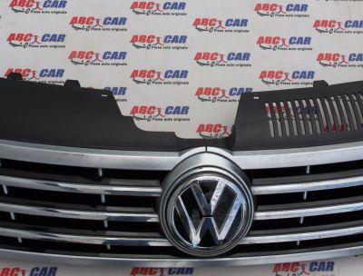 Grila bara fata VW Passat CC 2012-2016 facelift 3C8853653A