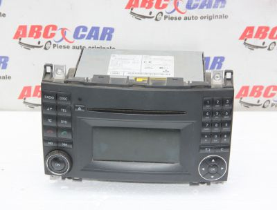 Radio CD Mercedes A-Class W169 2004-2011 A1699002000