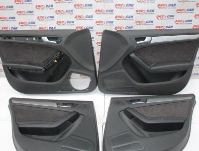 Set tapiterii usi cu alcantara Audi A5 8T sportback 2008-2015