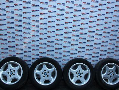 Set jante aliaj cu anvelope M+S 225/55 R16 BMW Seria 5 E39 1998-2004 1092094