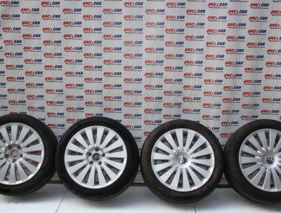 Set jante aliaj R17 VW Passat B6 2005-2010, ET47, 7.5JX17H2, 5X112 3C0601025G