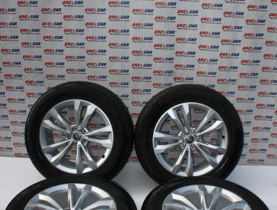 Set jante aliaj R19 Audi Q7 4M 2016-prezent 8JX19H2, ET28, 5x112, cod: 4M0601025C