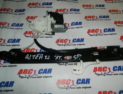 Macara cu motoras usa stanga spate Seat Altea XL 2006-2015 Cod: 1K0959703M