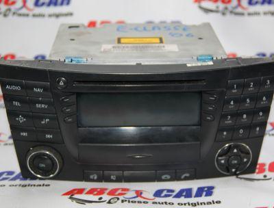 Radio CD cu navigatie Mercedes E-Class W211 2004-2009 A2118704589