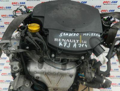 Motor fara anexe Dacia Lodgy 1.4 MPI 75 CP 2009 COD: K7JA714