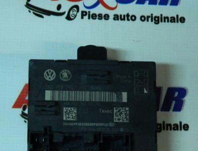 Modul control usa dreapta spate Skoda Superb 2 (3T4) 2008-2015 7N0959794