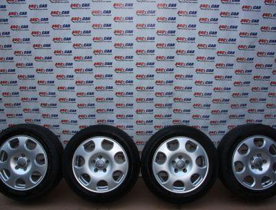 Set jante aliaj Audi A6 4B C5 1997-2004 7Jx16H2, ET45, 5x1124B0601025T