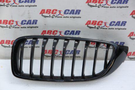 Grila radiatoare stanga(neagra)BMW Seria 4 F32/F33 2013-prezent7294817