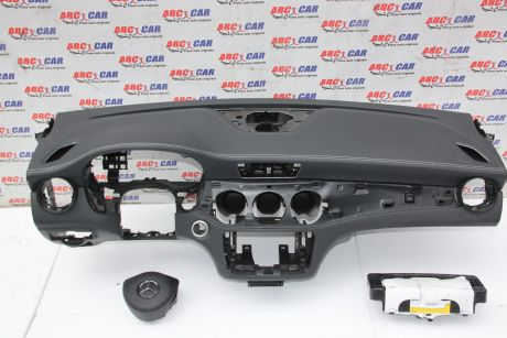 Plansa bord cu airbag sofer si pasager Mercedes CLA-Class C117 2013-2019