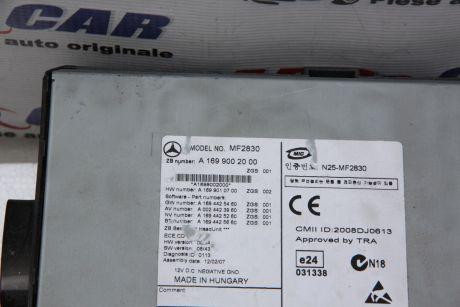 Radio CD Mercedes B-Class W2452005-2011 A1699002000