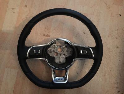 Volan piele cu comenzi VW Golf 7 , Passat B8 GT