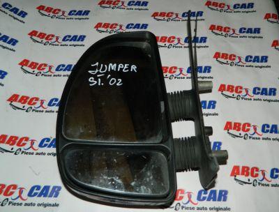 Oglinda stanga manuala Citroen Jumper 1 1994-2006