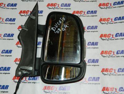 Oglinda dreapta electrica cu semnalizare Fiat Ducato 2 2006-In prezent