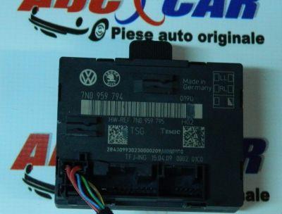 Modul control usa stanga spate Skoda Yeti (5L) 2009-In prezent 7N0959795