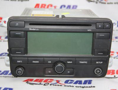 Radio CD cu navigatie Skoda Octavia 2 (1Z3) 2004-20131Z0035191A