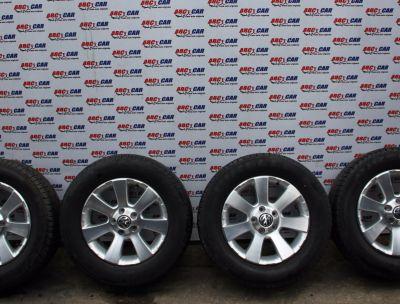 Set jante aliaj 5X112 cu anvelope de vara 215/65 R16 VW Tiguan (5N) 2007-2016 5N0601025A
