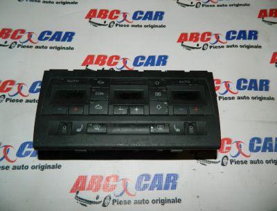 Panou comanda clima Audi A4 B6 8E 2000-2005 Cod: 8E0820043G
