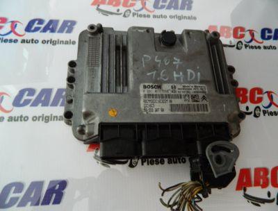 Calculator motor Peugeot 407 2004-2010 1.6 HDI 9655930780