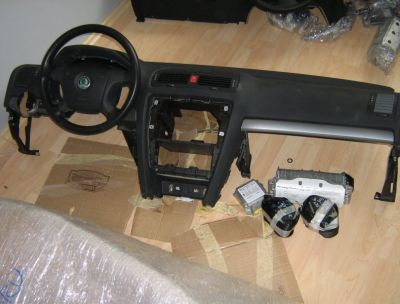 Plansa bord Skoda Octavia 2 (1Z3) 2004-2013