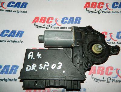 Motoras macara usa dreapta spate Audi A4 B6 8E 2000-2005 Cod: 0130821766