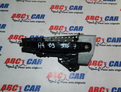Maner exterior usa stanga fata Audi A5 8T 2008-2015 8T01837885A