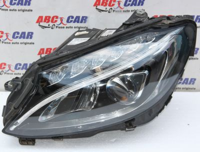 Far stanga full LED Mercedes C-Class W205 2014-2019 A2058200561