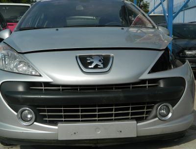 Bara fata Peugeot 207 model cu proiectoare 2006-In prezent