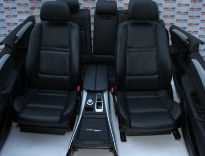 Interior din piele BMW X5 E70 2006-2013