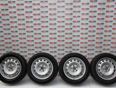 Set jante tabla R16 VW Caddy (2K) 2004-2015 6JX16H2, ET50 cod: 2K3601027