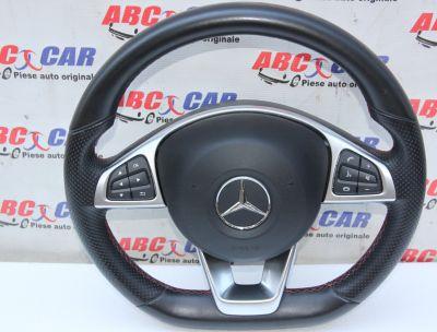 Volan din piele cu comenzi Mercedes A-Class W176 2012-2018A0004603303
