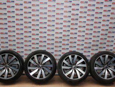 Set jante aliaj R18 VW Sharan (7N) 2010-In prezent ET35, 5x112, 7.5Jx18H2 Cod: 7N0601025P