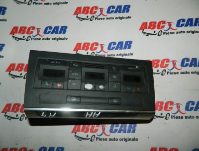 Panou climatronic Audi A4 B6 8E 2000-2005 Cod: 8E0820043AA