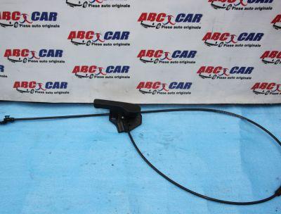 Maner si cablu deschidere capota VW Transporter T5 facelift 2010-2015 7H1823633B