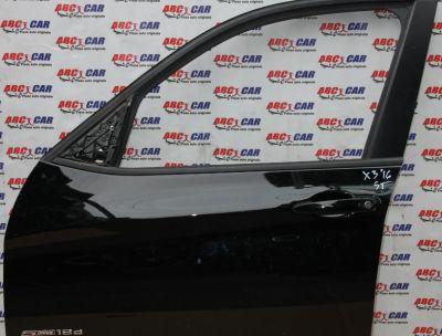 Broasca usa stanga fata BMW X3 F25 LCI 2014-2017