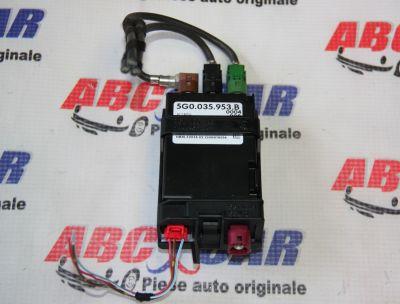 Modul control unitate USB VW Passat B8 2015-prezent5G0035953B