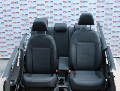 Interior textil negru cu incalzire VW Jetta (1B) 2011-prezent