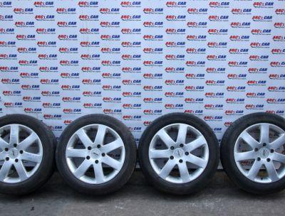Set jante aliaj cu anvelope de vara 195/55 R16 BMW Seria 1 E81/E87 2005-2011