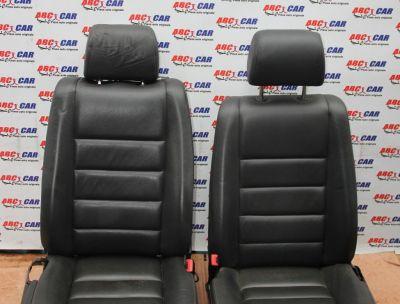 Scaune stanga-dreapta fata din piele VW Touareg (7L) 2003-2010