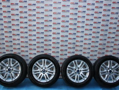Set jante aliaj R16 Ford Focus 3 5x108, ET50, 7Jx16H2 2012-2018 AM5J-1007-CC