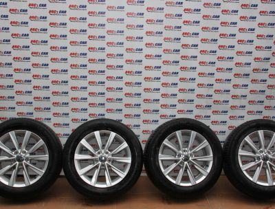 Set jante aliaj R17 VW Tiguan (5N) 2007-2016 ET33, 5x112, 6.5Jx17H2 Cod: 5N0601025AM