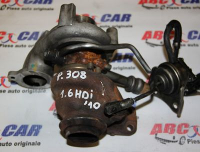 Turbosuflanta Peugeot 308 2007-prezent 1.6 HDI 9673283680
