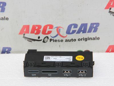 Panou USB/SD/SIM Audi A7 4K2018-prezent4N0035736