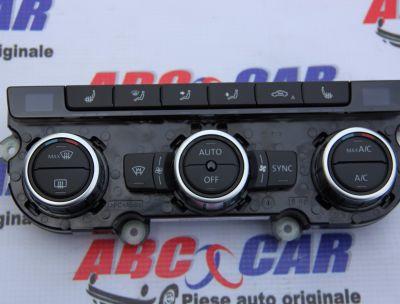 Panou comanda clima VW Passat B7 2010-2014 2.0 TDI 3AA907044CN
