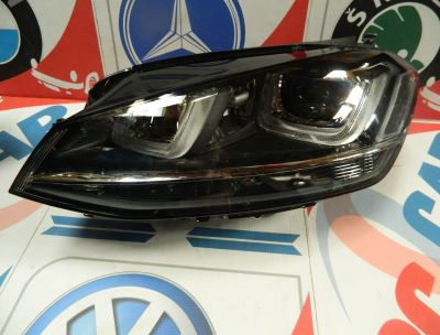 Far stanga Bi-Xenon Led VW Golf 7 2014-In prezent