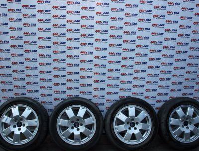 Set jante aliaj cu anvelope de vara 205/55 R16 Ford Mondeo 3 2000-2007 3S71-AA