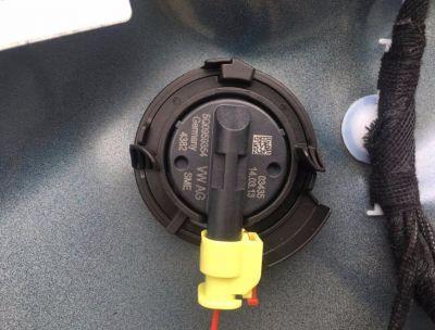 Senzor impact usa dreapta fata Audi TT 8S 2015-prezent5Q0959354